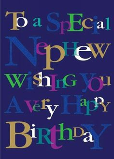 Buy Ling Design Nephew Happy Birthday Card From WHSmith Today!