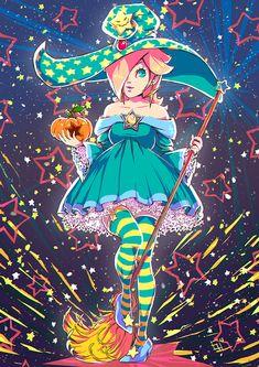 Witch Rosalina by wysoka on DeviantArt Super Mario Princess, Nintendo Princess, Super Mario Art, Super Mario Brothers, Mario Bros, Mario Kart, Harmonie Mario, Peach Mario, Art Base