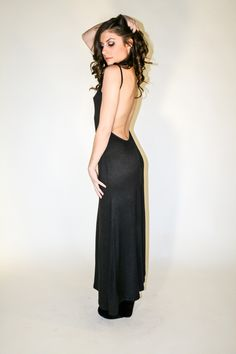 Hourglass Illusion Low Back Maxi Dress from Body Central | My ...