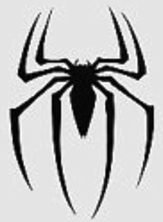 Superhero Logo Coloring Pages Spiderman Stencil, Spiderman Stickers, Spiderman Spider, Amazing Spiderman, 13 Tattoos, Flash Tattoos, Tatoos, Friday The 13th Tattoo, Spider Tattoo
