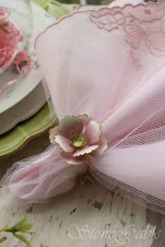 StoneGable: Cherry Blossom Table <===And an Apple Blossom Table!