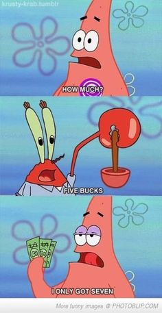 Patrick is just so smart