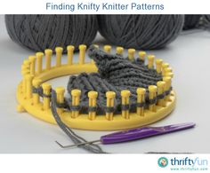 This is a guide about finding Knifty Knitter patterns. Knifty Knitter looms makes knitting items such as hats and scarves easy for everyone.