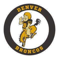 The 1960 Denver Broncos season was the team's inaugural year in the American Football League Sports Team Logos, Nfl Sports, Sports Art, Denver Broncos Logo, Denver Broncos Football, American Football League, Association Football, Vintage, Orange Crush