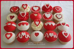 Ramp up the Red! Cupcakes for British Heart Foundation fundraiser