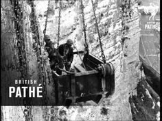 1968 Video: Repairing the White Cliffs of Dover, Kent, UK Outside Light Fixtures, Magnolia Colors, Dover Castle, White Cliffs Of Dover, Georgian Homes, First Photo, Tourism, Videos, Blog