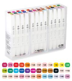 Shin Han : Touch Twin 36 Brush Marker Pen Set : Assorted http://www.jacksonsart.com/p57722/Shin_Han_:_Touch_Twin_36_BRUSH_Marker_Pen_Set_:_Assorted/product_info.html #set #marker #brush #pen #shinhan #gift #present