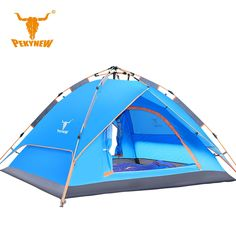 113.24$  Buy now - http://aliy61.worldwells.pw/go.php?t=32670672739 - PKN-C3005 More than 3 bunk automatic tent pole tent lengthening waterproof Tourist tent naturehike beach carpas camping barraca 113.24$