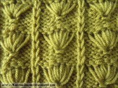 Slip-Stitch knitting pattern  |  knittingunlimited.blogspot.com
