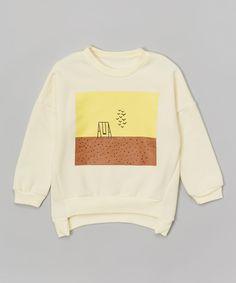 Tan Swing Set Sweatshirt - Toddler & Kids