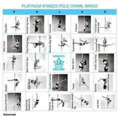 Pole Dance Training - Pole Dance Advanced