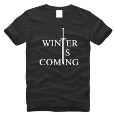 Like and Share if you want this  Winter is coming Game of Thrones short sleeves Cotton Casual tee shirt     Tag a friend who would love this!     FREE Shipping Worldwide | Brunei's largest e-commerce site.    Buy one here---> https://mybruneistore.com/2016-new-arrival-winter-is-coming-t-shirts-short-sleeve-summer-cotton-t-shirt-casual-tee-shirt-clothes-xxxlma048/