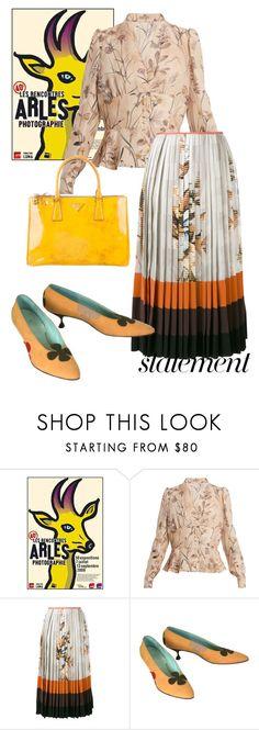 """bag"" by masayuki4499 ❤ liked on Polyvore featuring Bottega Veneta, Fendi, Prada and statementbags"