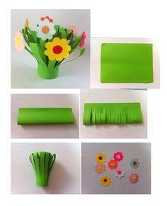 printemps - DIY papier pour enfant