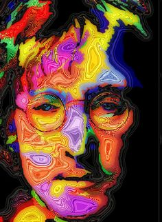 A John Lennon Poster By Stephen Anderson