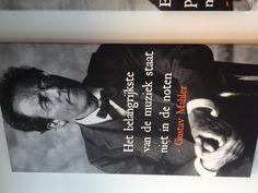 'Het belangrijkste van de muziek staat niet in de noten' - Gustav Mahler  (selfmade office decoration)