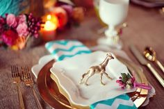 Lovely place setting.