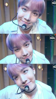Jung Hoseok eye contact.  Spring Day.