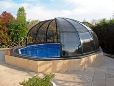 Not much space around your pool and you still want to cover it? Ask our experienced workers and be sure they will find ideal solution fo you.
