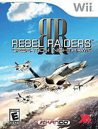 Rebel Raiders: Operation Nighthawk USED SEALED NINTENDO Wii & Wii U