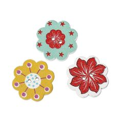 Jinshida Cute Colorful 2-Hole Bakelite Buttons Random Color * Click image to review more details.