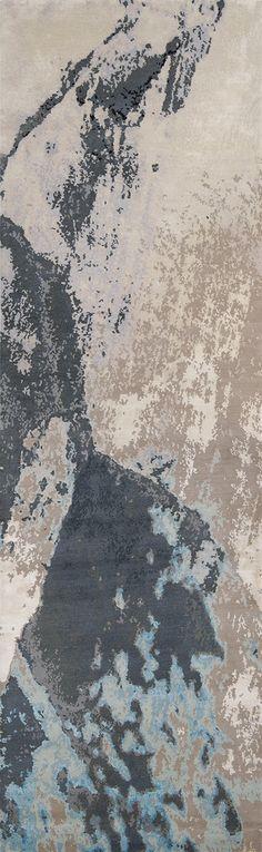 'Trilogy No.03_Cobalt' | 80% Tibetan wool 20% Chinese silk | 150 knot/inch