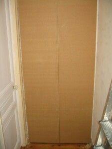 r alisez une porte de placard toute simple reussir ses travaux organisation annexe. Black Bedroom Furniture Sets. Home Design Ideas