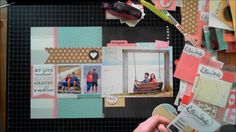 Scrapbook From Start to Finish : 4 a layout featuring Elle's Studio