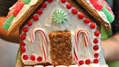 Our editors get in the holiday spirit with a friendly gingerbread-house competition. Hear what inspired their designs, see the finished results and pick a favorite!