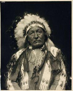 LABAN LITTLE WOLF (O-kum-harket), Northern Cheyenne, March 1913