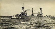 HMS Agincourt was a dreadnought battleship built in the United Kingdom in the early 1910s.  Length: 671 ft 6 in (204.7 m) Launched: 22 January 1913 Commissioned: 7 August 1914