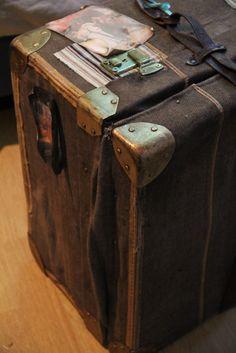Restaurar una maleta antigua! By Lo que nos queda del día