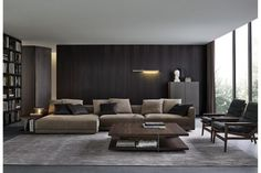 Bristol Sofa by J. M. Massaud for Poliform
