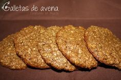 Cooking on Mars: Oatmeal cookies without butter {} Oatmeal Cookies Without Butter, Tortas Light, Sweet Recipes, Vegan Recipes, Yummy Recipes, Summer Cookies, Cakes And More, Healthy Cooking, Cooking Time