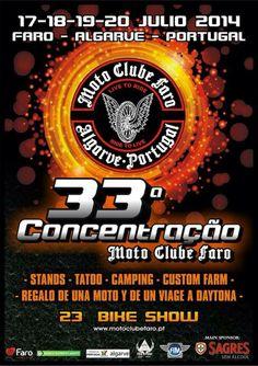 33ª Concentração Motard de Faro 2014