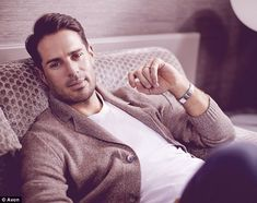 New face: Jamie Redknapp has been unveiled as the new face of Avon's male fragrance range
