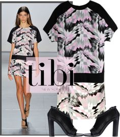 """TIBI Spring 2013"" by kmp11 ❤ liked on Polyvore"