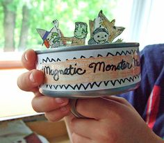 small world land: Magnetic Monster Mash