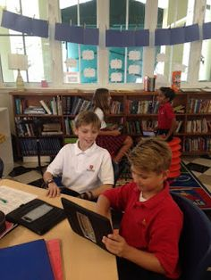 Peer-conferencing day in Mrs. Webster's Class