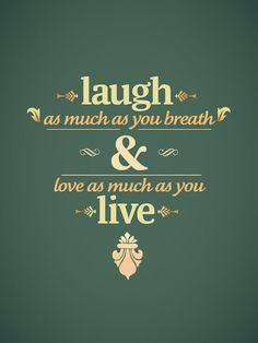laugh & love <3