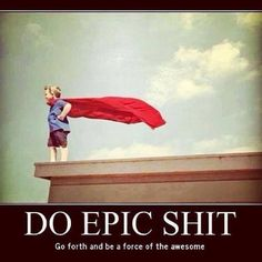 The world needs you to be awesome!www.synergyfamilywellnesscentre.com