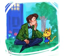 Aaah! I'm dying! Doctor Who and Animal Crossing cross over! <3