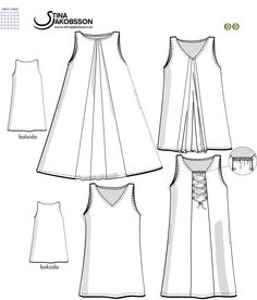 Swedish Sewing, Sewing Patterns, Design, Big Sizes, Ideas, Damask, Tunic, Patron De Couture