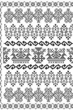 How to Knit a Scarf for Total Beginners Blackwork Patterns, Blackwork Embroidery, Types Of Embroidery, Embroidery Fabric, Cross Stitch Embroidery, Embroidery Patterns, Cross Stitch Patterns, Machine Embroidery, Embroidery Techniques