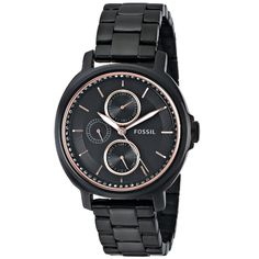 Fossil's founding principal of bringing fashion and functiontogether is visible in their unique styles. Constructed ofstainless steel. this women's watch from the chelsey collectionfeatures a chronogr