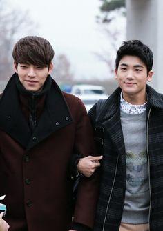 Kim Woo Bin - Giordano F/W 2014 | Drama ManiaHyungsik Heirs