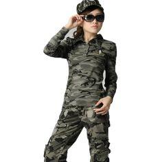 Zeagoo Women's Army Camo Clothes Long Sleeve T-Shirt Camouflage Wedding, Camo Wedding, Camo Clothes, Army Camo, Camo Outfits, Military Jacket, Long Sleeve, T Shirt, Jackets