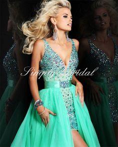 2015 New Style Above Knee, Mini Prom Dresses Vestidos De Festa Bridesmaid High Appliques Lace Prom Dresses