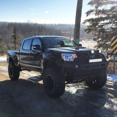 Tacoma adventure | Anchor & Bolts #toyota #tacoma #offroad #4x4 #modified #lifted #black