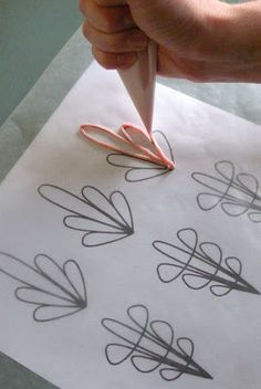 How to make cupcake toppers #howto #decorate
